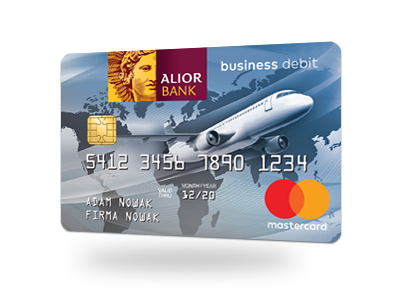 Karta debetowa MasterCard Business Debit PayPass